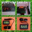 Digitalny termostat, LCD vlhkomer, teplomer